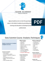 Jigsaw Academy - Data Scientist Outline (1)