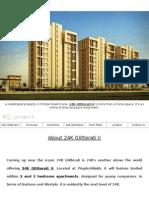 24K Glitterati II - Luxury Apartments in Pimple Nilakh Pune