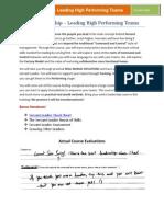 Servant Leadership Flyer