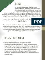 Korupsi Dan Upaya Pemberantasannya Dalam Pandangan Islam