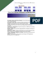 OMMI 2008 Fuzzy Logic Prioritizing Maintenance Work in Operative Planning