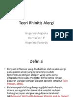 PPT Rhinitis Alergi Teori