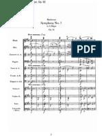 Beethoven, symphony n. 7