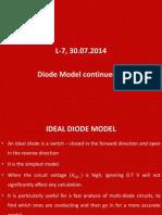 30 Jul 2014 RM01 L 7 Diode Model Cont