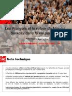 Les Français et le retour de Nicolas Sarkozy