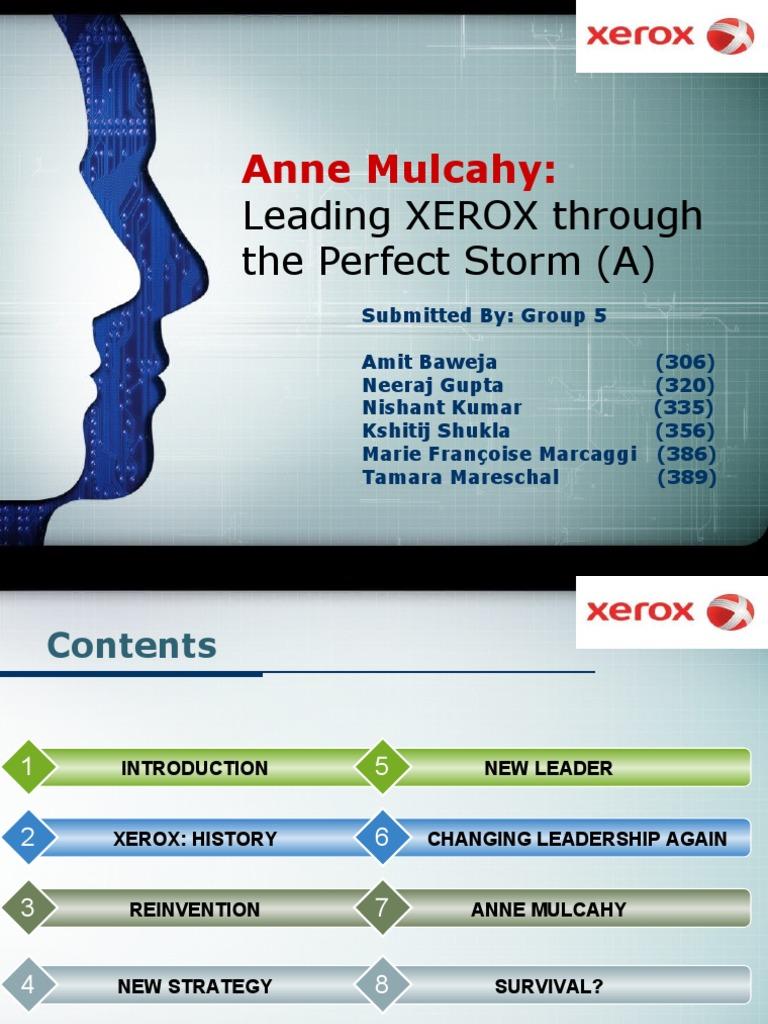 mulcahy xerox