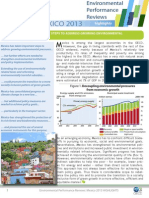 Mexico 2013 Environmental Performance Review - Highlights