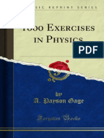 Exercises in Physics 1000023899