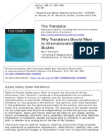 Internationalization of Translation Studies (2009)
