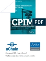 aChain APICS - Slides do curso SMR Strategic Management of Resources - aChain APICS CPIM.ppt
