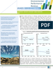 Israel 2011 Environmental Performance Review - Highlights