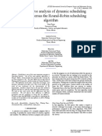 A Comparative Analysis of Dynamic Scheduling Algorithms versus the Round-Robin Scheduling Algorithm