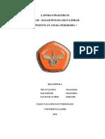 Laporan Praktikum Limbah Peroksida