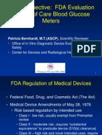 Bernhardt- How FDA Reviews BGMs