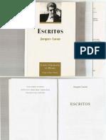 Lacan, J - Escritos.pdf