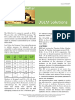 DBLM Solutions Carbon Newsletter 03 Oct 2014