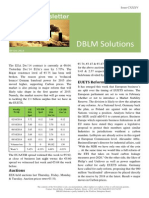 DBLM Solutions Carbon Newsletter 09 Oct 2014
