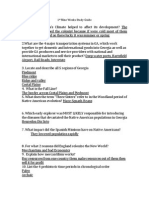 s s final exam study guide
