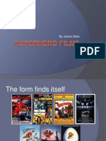 Superhero Films - The Development of the Genre