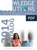 2014 Knowledge Solutions International Catalog v.3