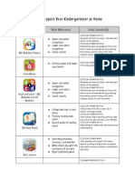 Free Apps for Kindergarten Common Core State Standards