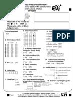 EDI Questionnaire