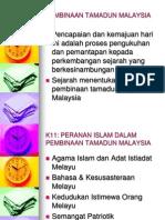 k11 & k12-Peranan Islam Dalam Pembinaan Tamadun Malaysia