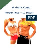 Como Perder Peso | e-book GRÁTIS