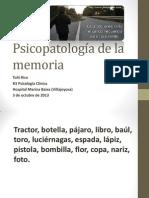 Psicopatología de la memoria.ppt