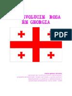 La revolución Rosa en Georgia