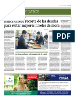 Banca ofrece recorte de deudas para evitar mayores niveles de mora_Gestión 9-10-2014.pdf