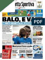 La Gazzetta Dello Sport - 15.06.2014