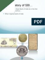 history of SBI