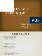 Song to Celia