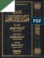 شرح  فضل الإسلام لمعالي الشيخ صالح بن عبد العزيز آل الشيخ حفظه الله
