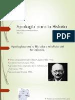 Apología para la Historia.pptx