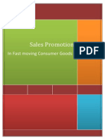 Sales Promotion In FMCG