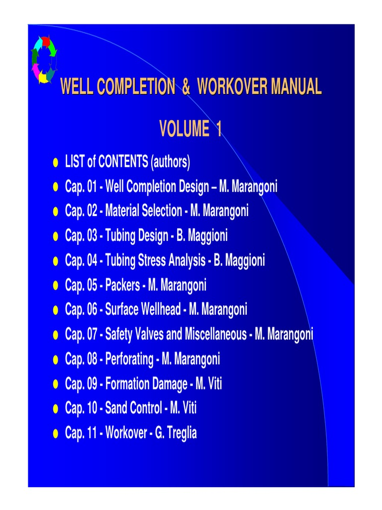 P1R8789A Well Completion & Workover Manual Volume1   Petroleum