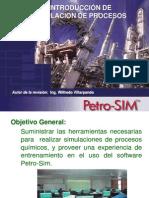 Introduccion de Manejo de Petro-Sim