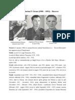 Colonel Florian F. Groza (1908 – 1991)