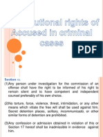 rights of the acuse