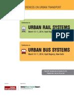 Brochure Urban Rail or Bus Systems