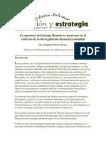 La apertura del sistema financiero mexicano en el contexto de la desregulación financiera mundial.docx