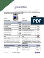 Agilent x3000 vs Tektronix MDO3000