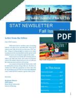 stat newsletter fall 2014