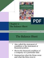 balance sheet component
