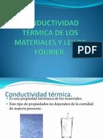Conductividad termica de los materiales y ley de Fourier.ppt