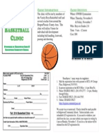 Ridgewood Fall Basketball Clinic 2014