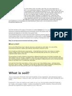 Notes Residual Soil