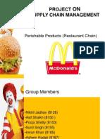 Mcdonalds distribution network